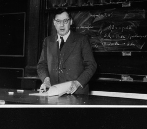 Huckel at the board 1950
